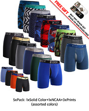 3/5 Pack 2UNDR Mens Swing Shift Boxer Briefs Trunks Underwear XS-2XL
