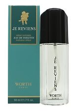 New Boxed Sealed Worth Paris Je Reviens 50ml EDT  Woman Perfume