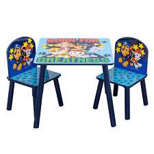 PAW PATROL TISCHSET | Kindersitzgruppe aus Kindertisch und 2 Stühlen zum Spielen