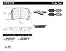 Disc Brake Pad Set-Sport Brake Pads Front Stoptech 309.07070