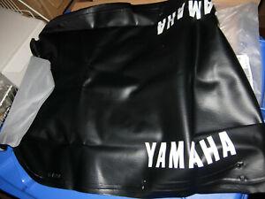 YAMAHA  DT 125 R   ORIGINAL SITZBEZUG  SCHWARZ  COVER SEAT BLACK  DT125R