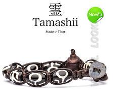 BRACCIALE ORIGINALE TIBETANO TAMASHII BKRA SHI (Simbolismo) RISPETTO