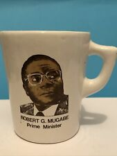 More details for robert g. mugabe - zambia independence day 18th april 1980 - commemorative mug