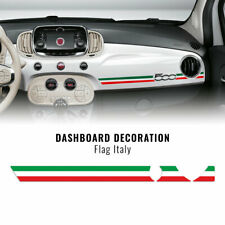 Stripes Strisce Adesive per Cruscotto Fiat 500 Abarth Tricolore Italia