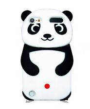 Silicone Skin Case for Apple iPod Touch 5th Gen - Panda