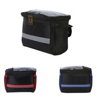 Bicycle Bike Front Basket Pannier Frame Tube Handlebar Bag Outdoor Cycling Pouch
