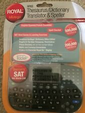 Royal Info To Go, Translator And Speller, Thesaurus / Dictionary Rp6S / New