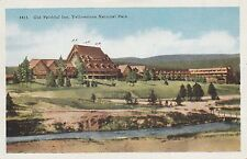 Lam(C) Yellowstone National Park, Wy - The Old Faithful Inn - Exterior - Grounds