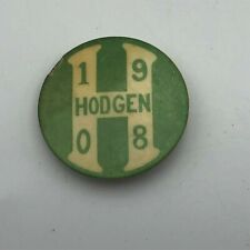 Antique 1908 Hodgen Boer War Memorial Designer Australia Rough Shape Rare   P6