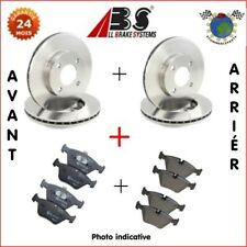 Kit complet disques et plaquettes avant + arrière Abs OPEL ZAFIRA A ASTRA G