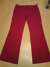 Brand New Red Stretchy Trousers size 16 from Bay Trading