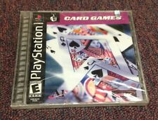 Card Games  (PlayStation, 2001) Factory Sealed