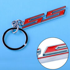 Chrome Metal Super Sport SS Key Chain Ring Keychain Fits Chevrolet Chevy All Car