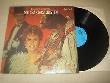Emmerich Kalman - Die Csardasfürstin  Vinyl  LP Amiga   1974 hellblaues Label