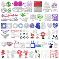 Metal DIY Cutting Dies Set Stencil Scrapbook Album Paper Card Embossing Craft