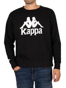 Kappa Men's Authentic Telas 2 Oversized Sweatshirt, Black