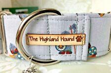 "2"" Valhalla Handmade Martingale Dog Collar Greyhound, Whippet, Lurcher, Saluki"