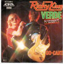 """<1164-MD> 7"""" Single: Ricky King - Verde / Go-Cart"""