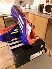 Adidas F10 MG purple Moulded Studs Mens Football Boots Soccer Trainers UK 12 1/2