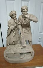"""John Rogers Group Statue Statuary """" Country Postoffice"""""""