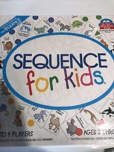 Sequence for Kids Board Game New SEALED Reading Not Required Brand New A2