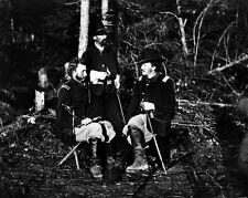 New 8x10 Civil War Photo: Lts. George A. Custer, Nicholas Bowen & William Jones