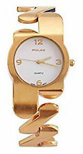 Pulse Mujer Metal Dorado Fashion Bracelet Reloj De Analogico Kaponés Cuarzo