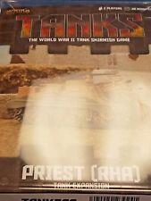 TANKS American Priest (RHA) Tank Expansion Galeforce Nine War Board Game New!
