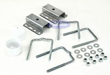 Boat Trailer Galvanized Universal Guide Pole and Post Mounting U Bolt Kit
