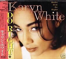 Karyn White - Make Him Do Right - Japan CD - NEW