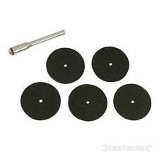 Ensemble 6 pièces de disques à couper le métal pour outil rotatif - ( EN STOCK )