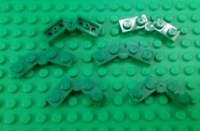 *NEW* Lego Green Flat Swivel Hinge Interlocking Plates Moving parts - 6 pieces
