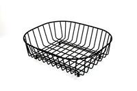 Wire Ware Black Dish Sink Kitchen Drainer Strainer Basket Delfinware UK Stock