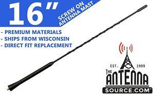 """16"""" Antenna Mast - Fits: 1995-2002 Volkswagen CABRIO"""