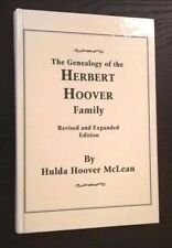 The Genealogy of the Herbert Hoover Family President of the United States usa