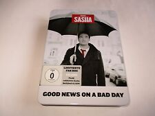 Sasha-( This is) Good News On A Bad Day- CD/DVD Import Deluxe Metal Fan Box NEW