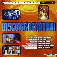 Disco Generation-18 super Disco Hits Santa Esmeralda, Trans-X, Michael Za.. [CD]