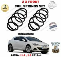 FOR VAUXHALL OPEL ASTRA GTC 1.4i 1.6i HATCH 2011-> NEW 2X FRONT COIL SPRINGS SET