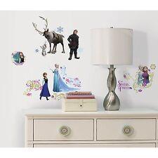 Disney FROZEN Wall Decals OLAF ELSA ANNA SVEN Sticker Room Decor