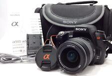 Sony Alpha DSLR-A500 12.3 MP Digital SLR Camera - Black  SAM 18-55mm Lens #31