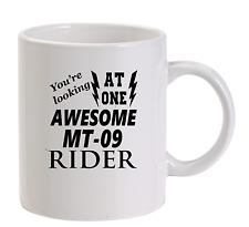 Awesome MT-09 Rider Mug New Funny Birthday Gift Dad Yamaha