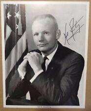 Neil Armstrong Apollo II Astronaut  Autopen Signed NASA 8x10 Photo Space History