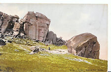 Yorkshire Postcard - Ilkley - Cow & Calf Racks     SL270