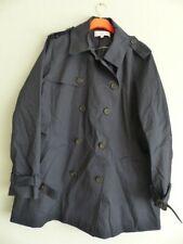 La Redoute short cotton trench coat  size 24 navy