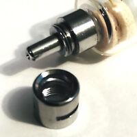 5 cc 5 mL GLASS SYRINGE LUER LOCK TIP TO SLIP TIP DISPENSER NEW REUSABLE USA !!!