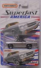 MJ7 Matchbox - 2006 Superfast America #12 - 1970 El Camino - Silver
