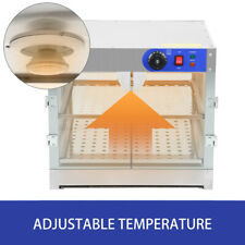 750W Commercial Food Countertop Warmer Cabinet Food Pizza Warmer Display Case