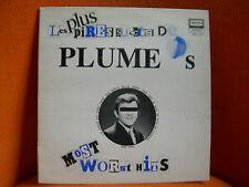 VINYL 33T – LES PLUS PIRES SUCCES DE PLUME LATRAVERSE – FOLK POP BLUES – 1978