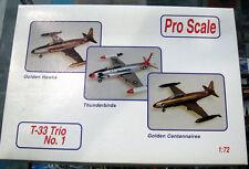 ProScale 1/72 T-33 Trio No.1 Golden Hawks/Thunderbirds/Golden Centennaires 91-51