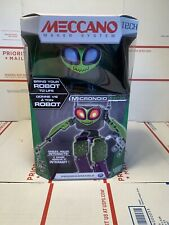 Meccano Micronoid Switch, Robot Building Kit Green New programmable STEM